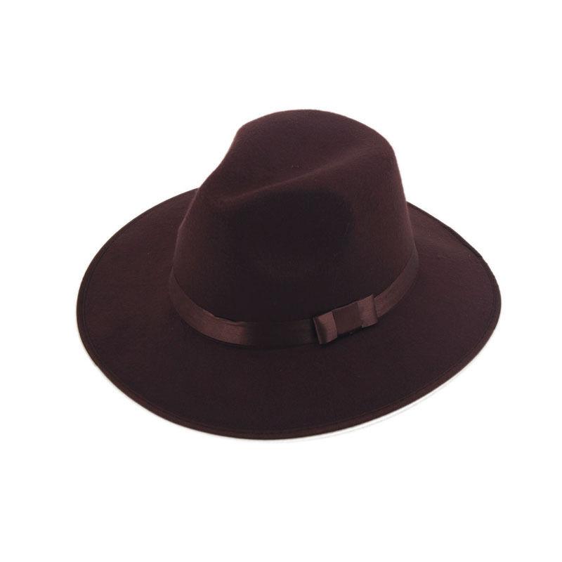 Get Quotations · Women Men Unisex Vintage Blower Jazz Dance Hat Trilby Derby  Cap Fedora Felt Hats e60365396dc6