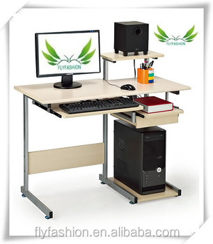 Hot!!!modern Wooden Computer Table Design For Home