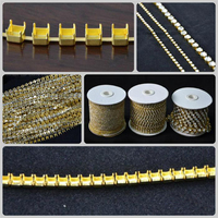 Brass PP14 275 per Meter Raw cup chain for Shoe accessory