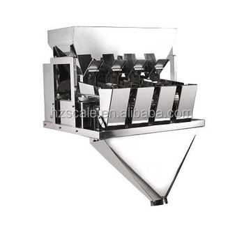 Automatic CE approval high speed 4 Head Linear Weigher for Seeds doypack Machine