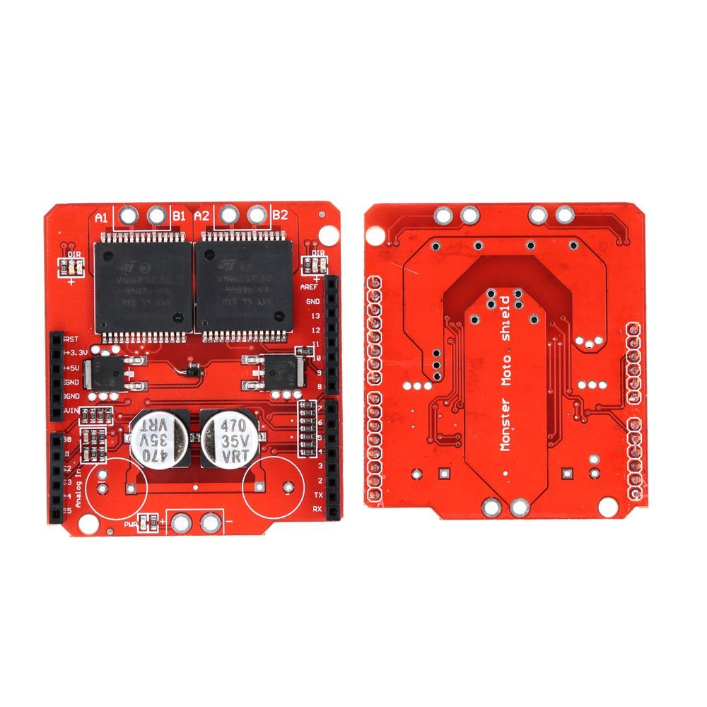 Androw Dual VNH2SP30 Arduin Monster Moto Shield Module Stepper Motor Driver 30A16V For Arduin