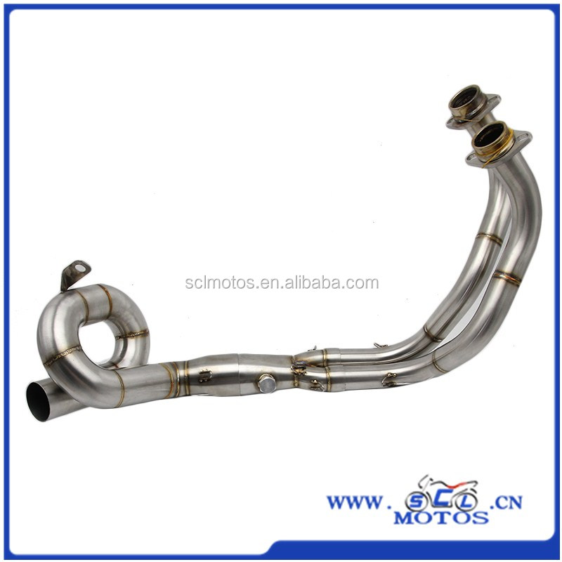 SCL-2017050030-01 Super Stainless Motorcycle Exhaust Pipe For FZ-07/MT-07