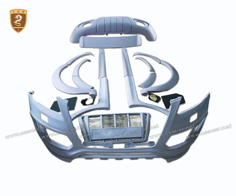 new arrival atb style fiberglass car parts for audi q5 auto body kit for cars