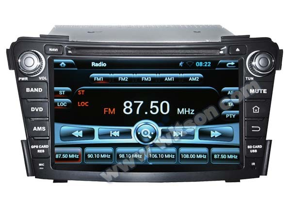 WITSON ANDROID 4.4 FOR HYUNDAI I40 CAR RADIO WITH 1.6GHZ FREQUENCY STEERING WHEEL SUPPORT RDS