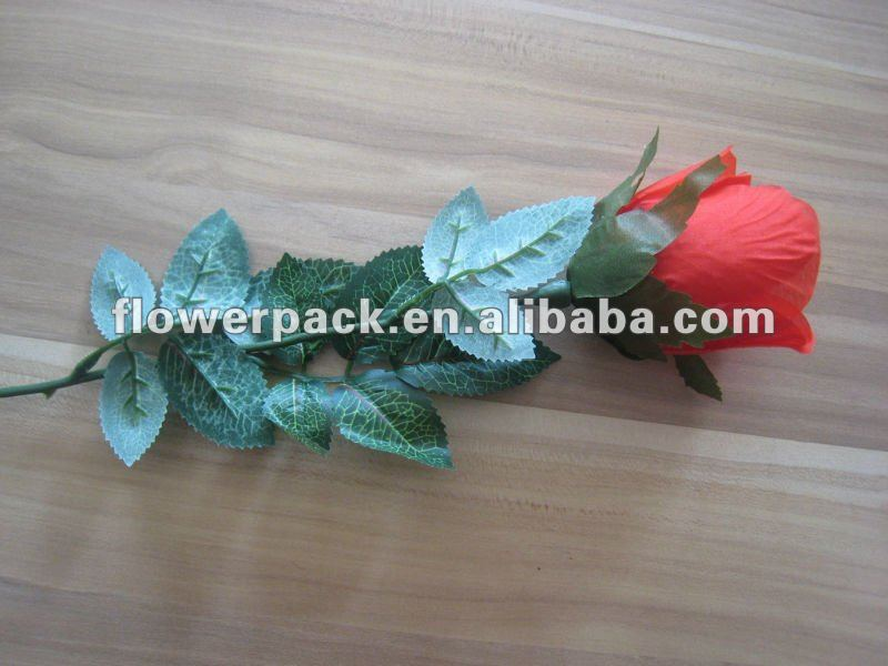 Artificial single rose