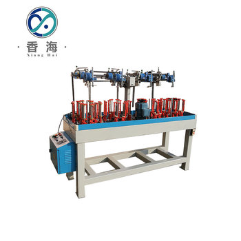 12 spindle diamond cord solid rope braiding machine