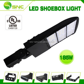 185W LED Shoebox Area Light, MH/HPS Equivalent, Parking Lot Street Lamp