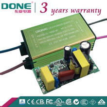 CE approved high pf 7w 600ma waterproof led driver power