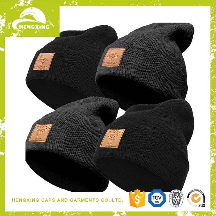 Cheap Hip hop floppy mens knitted beanie slouch hat