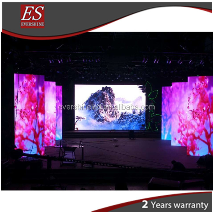 2016 new produced High definition P2.5 LED display easy assemble indoor LED screen for stage