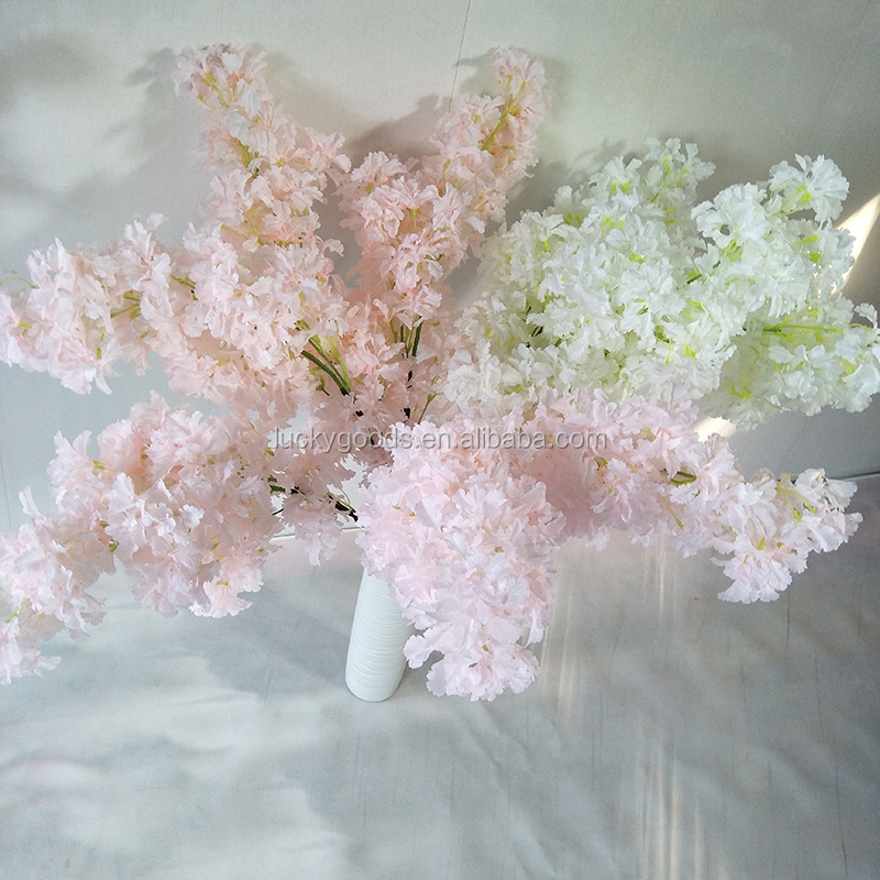 LG20190606-18 artificial flower cherry blossom decorative tree branches for sale