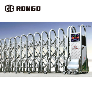 Automatic electric stainless steel retractable door /Folding Gate
