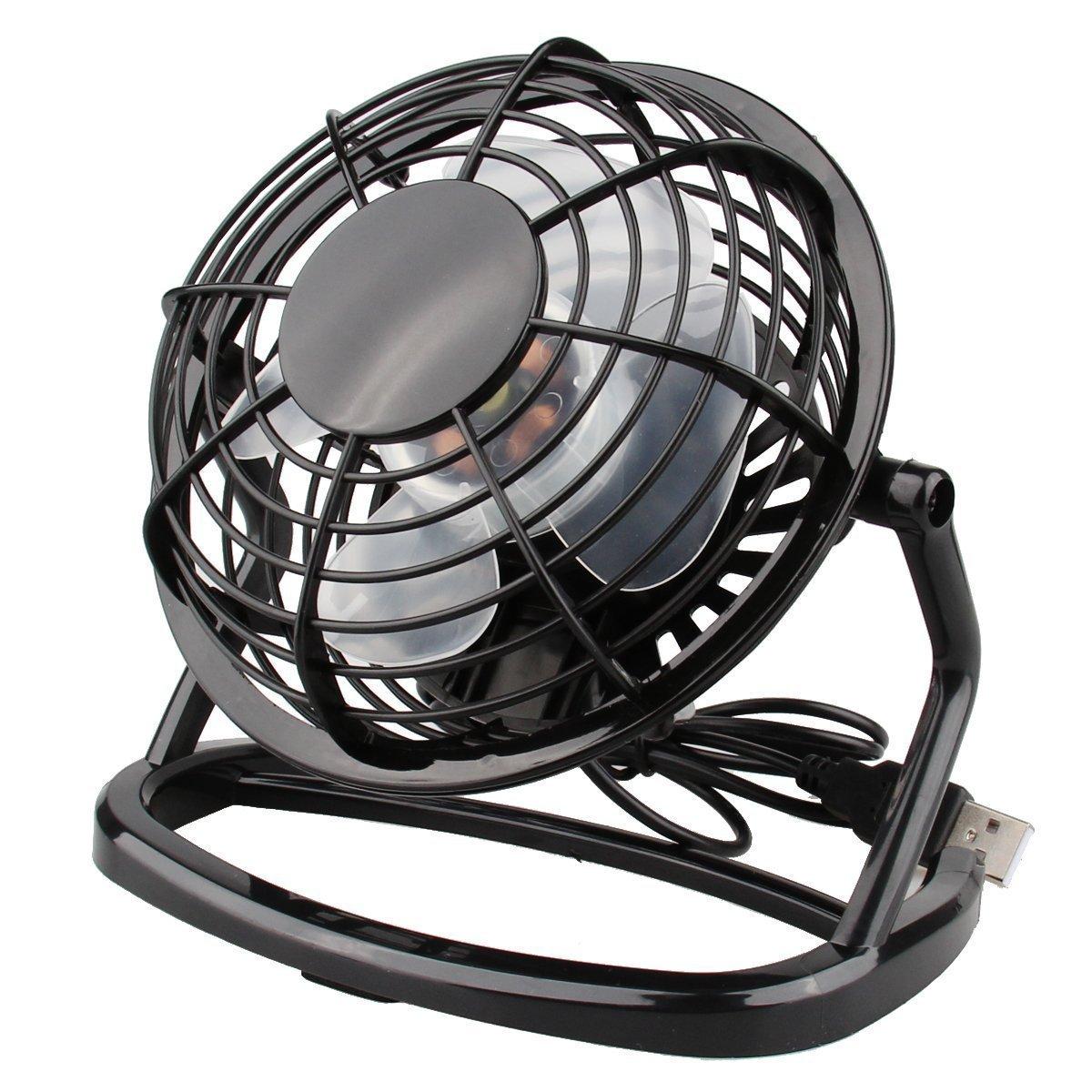 Winmany USB Fan Summer Cooler Cooling Desktop Mini Fan, Mini Super Mute Laptop Computer PC USB Fan Cooler Cooling Desktop Small Fan