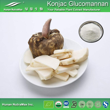 Natural Glucomannan Konjac Root Powder Viscosity 36000cPs