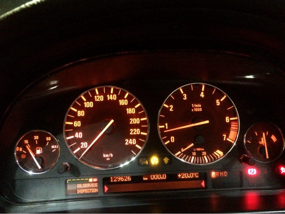 High Quality chrome dashboard gauge ring