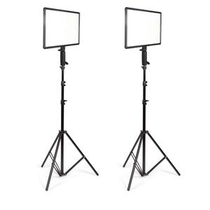Goldeneagle video studio photography video light kits LED Large-sized Panel 3200-5400K color temperature adjustable camera light