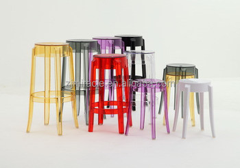 High Quality Cheapest Colored Acrylic Dining Chairs