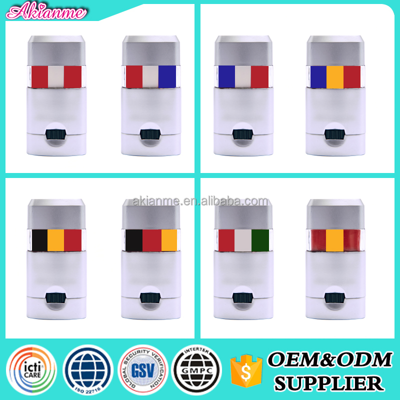 Factory promotion cheap Popular in Europe flag 3 colors football fans face paint