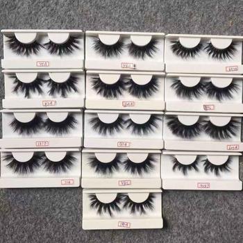2b4e0229885 25mm Mink Eyelashes Private Label Thick Mink eyelash Chinese Wholesale  Vendor