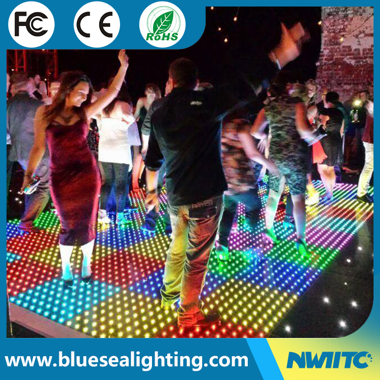 Manufacturers 64pixels ditigal led dance floor suppliers