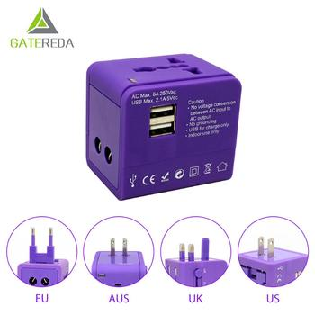 Smart Dual USB Adapter Travel Adaptor