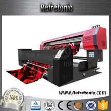 Large Format Reactive Flax Fabric cheap t-shirt print machine