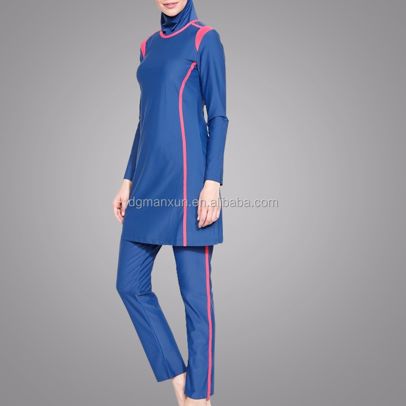 Customize Modern Muslim Islamic Swimwear High Quality Maslimah Swimsuit Full Cover Clothes Wholesale Online