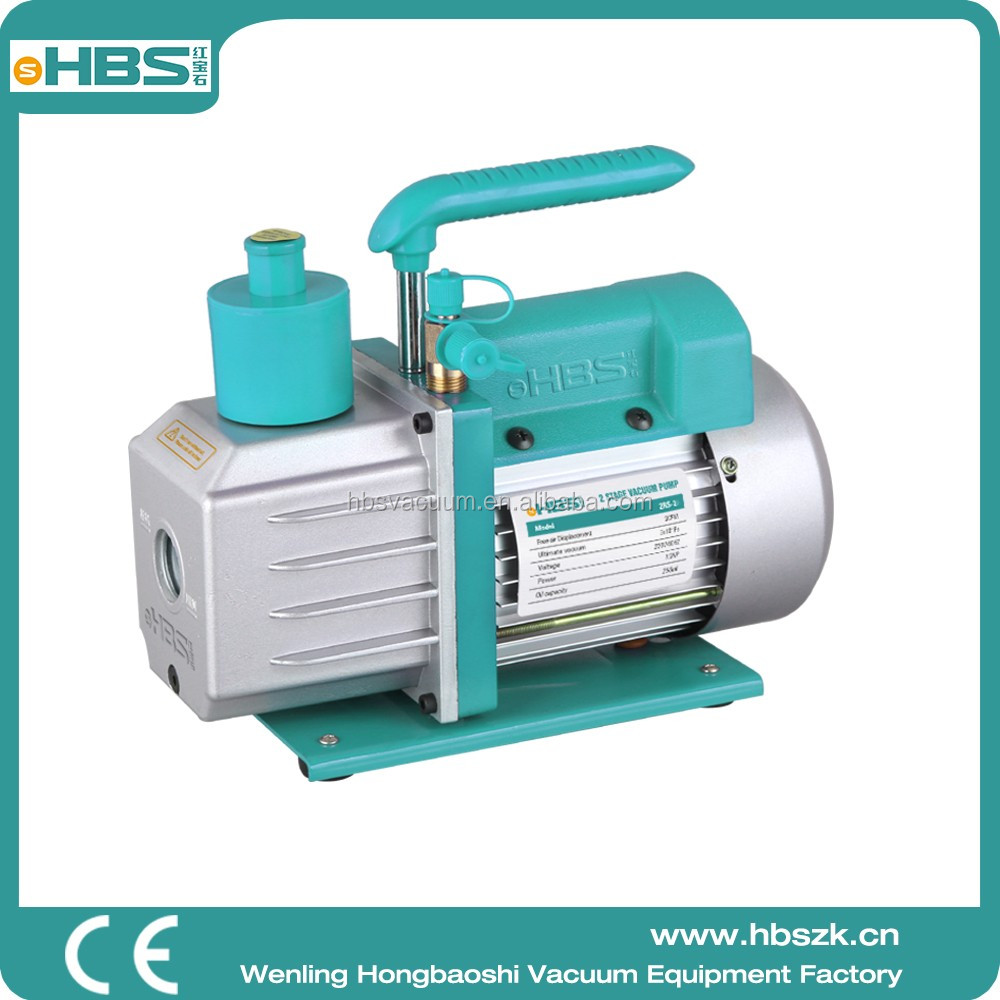 China HBS 2RS-2 Doble stage air operated vacuum pump,efficient ad low noise