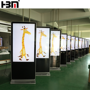 information commercial advertisement monitor interactive panel lcd smart screen