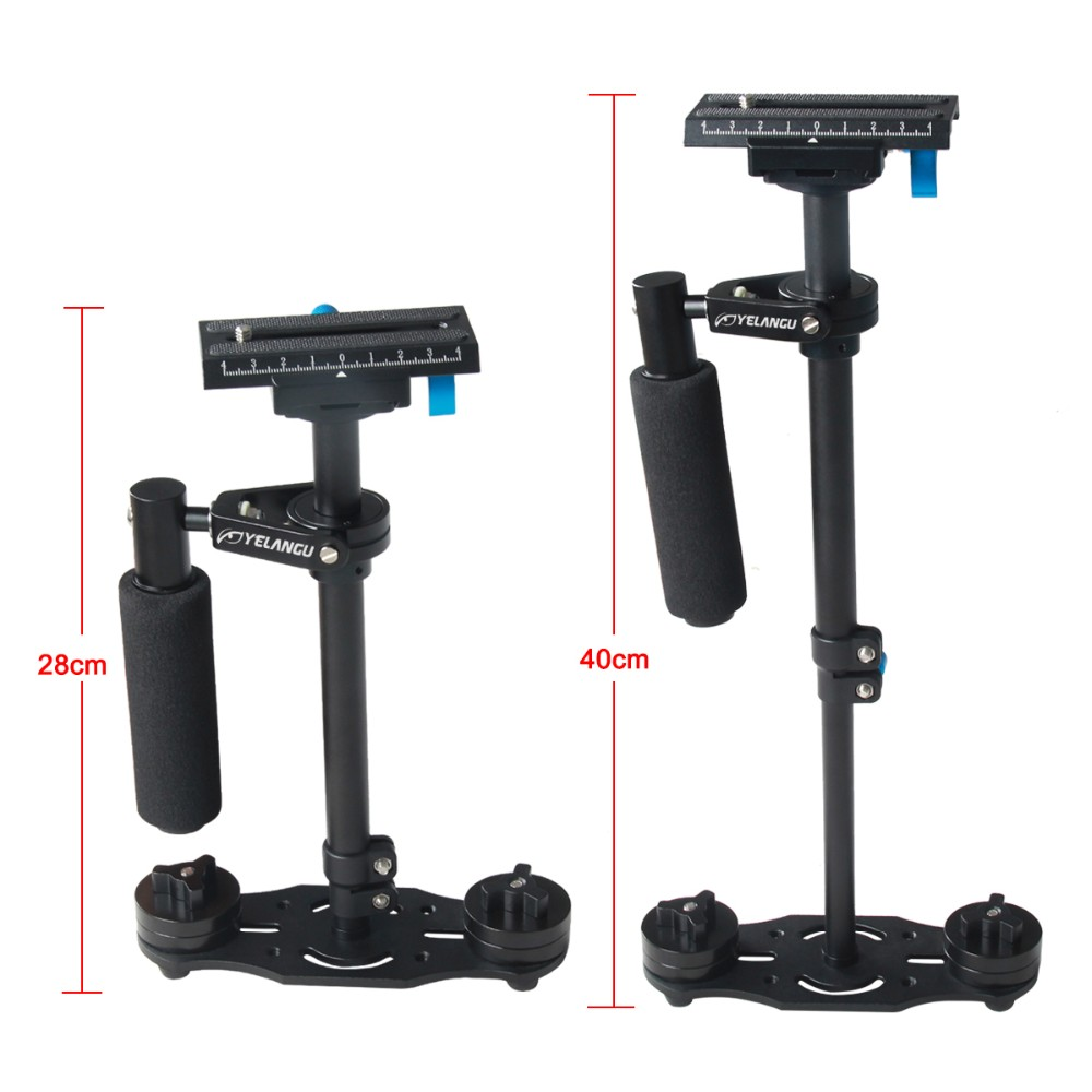 YELANGU Mini Handheld Gimbal Lightweight Stabilizer Stabilizing For DSLR Camera