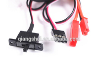 RC ESC Brush Motor Speed Controller w/ Switchable Brake for RC Car Boat