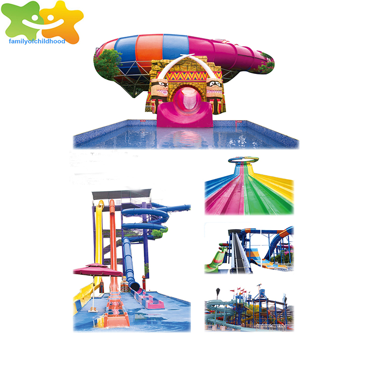 Large Beast bowl slide water park equipment for adult
