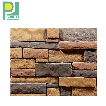 2017 Wholesale & Retail Artificial Culture Walling Ledge Stones for House Application