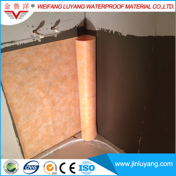 compound waterproof membrane for bathroom wall and swimming pool floor