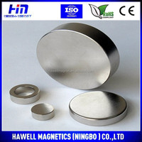 Strong permanent disc Neodymium magnet ,N52 magnet ,round base magnet