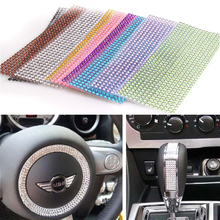 750pcs/set 3mm Personalized Crystals Rhinestones Self Adhesive Car Stickers Styling For Cars Motorcycles PC Computer Decoration