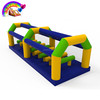 Inflatable jumping train obstacle course, juming air balance beam obstacle course