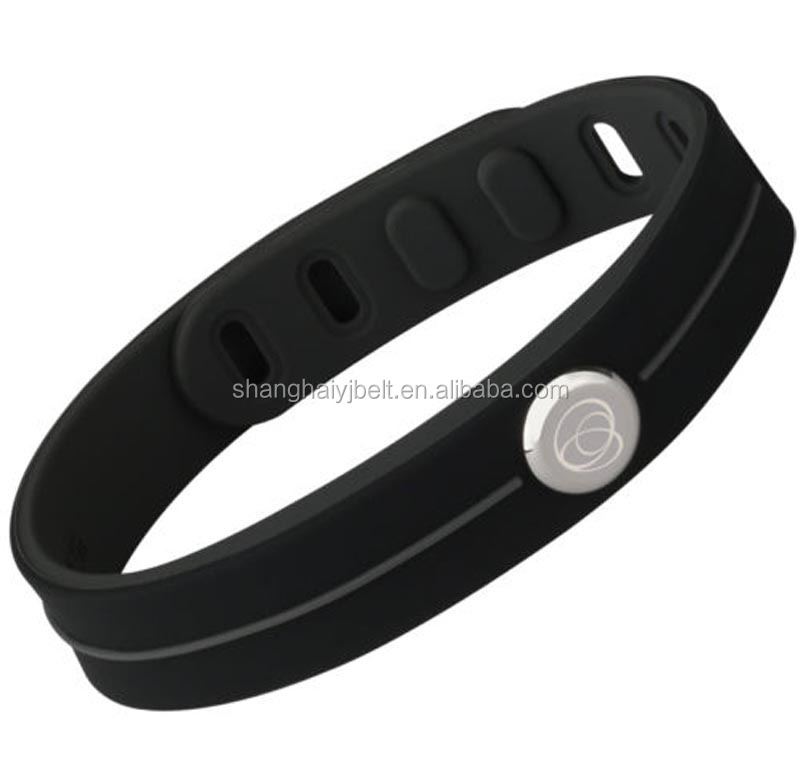 Fashion jewelry watch silicone bracelet mens leather bracelet