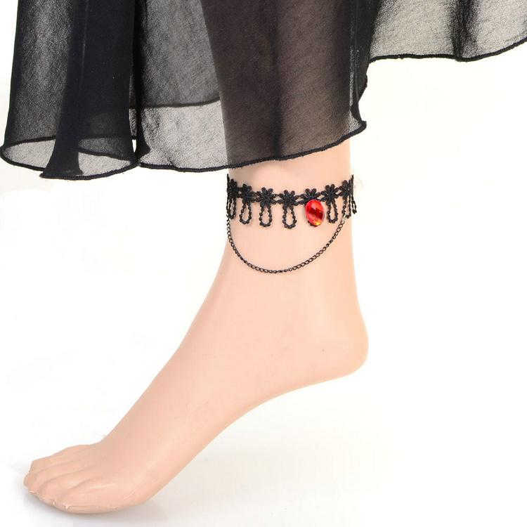 Celebrity Fashion Love Charm Ankle Bracelet Anklet Foot