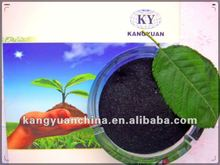 High water solubility 95% super potassium humate for foliar fertilizer