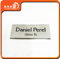 uniform customized clothes brand label woven
