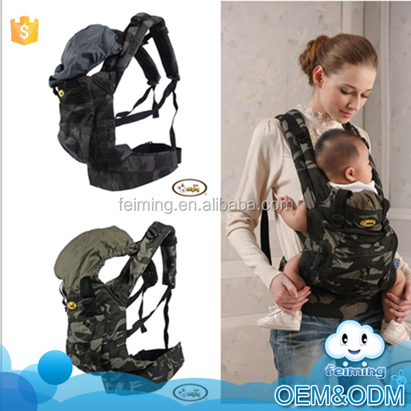Wholesale baby products china manufacturer camouflage style 100% cotton convenient baby hip seat popular baby carrier wrap