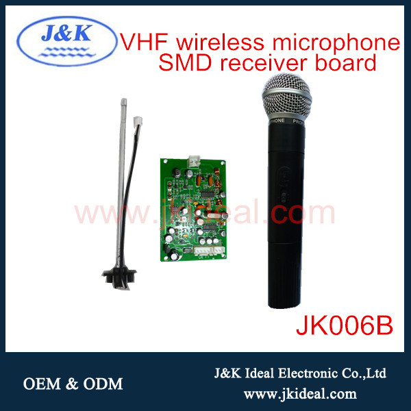 Groovy Jk006B Professional Vhf Wireless Microphone With Microphone Receiver Wiring 101 Cabaharperaodorg