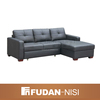 Living room 3 seat leather sofa furniture cleopatra style