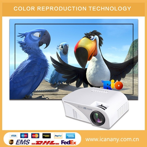 G8005B update version Home Theater Multimedia Projector 800*480 Support 1080P
