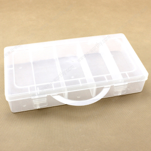 New Design Multipurpose PP Plastic Storage Box with Lid Transparent Household Toy Storage