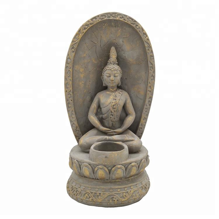 Gold Budha Buddha 16.5 Inch Gold Art Thai Buddha Figurine Brand New in Box