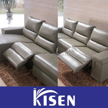 Living room home furniture leather for sofa