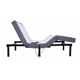 Mail order split queen okin motor adjustable massage bed with wireless Remote Control