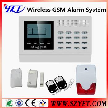 Factory price gsm auto dial alarm system safe house alarm for Buy house alarm system
